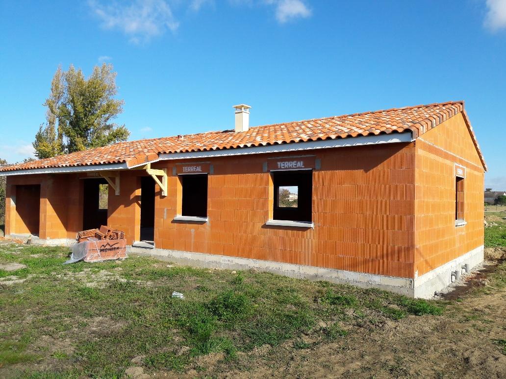 Chantier maison en brique top duo montauban for Constructeur maison montauban