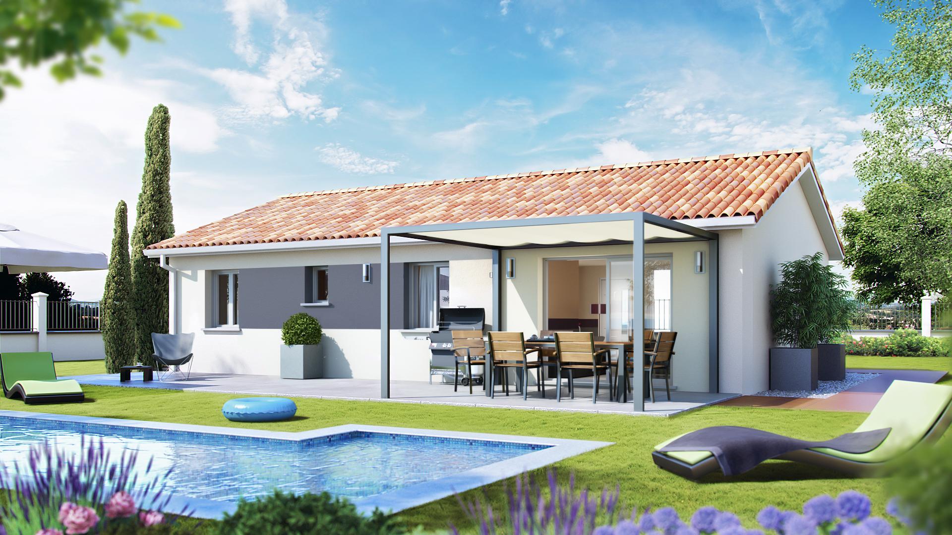 Nouveau lotissement montartier top duo montauban for Constructeur maison individuelle montauban