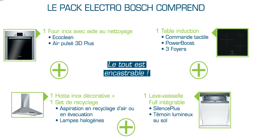 Pack Electro Bosch