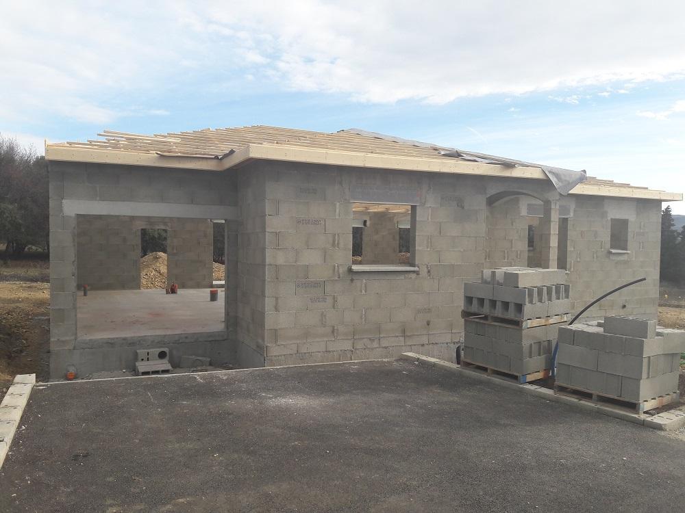 Construction en cours top duo montelimar constructeur for Top constructeur maison