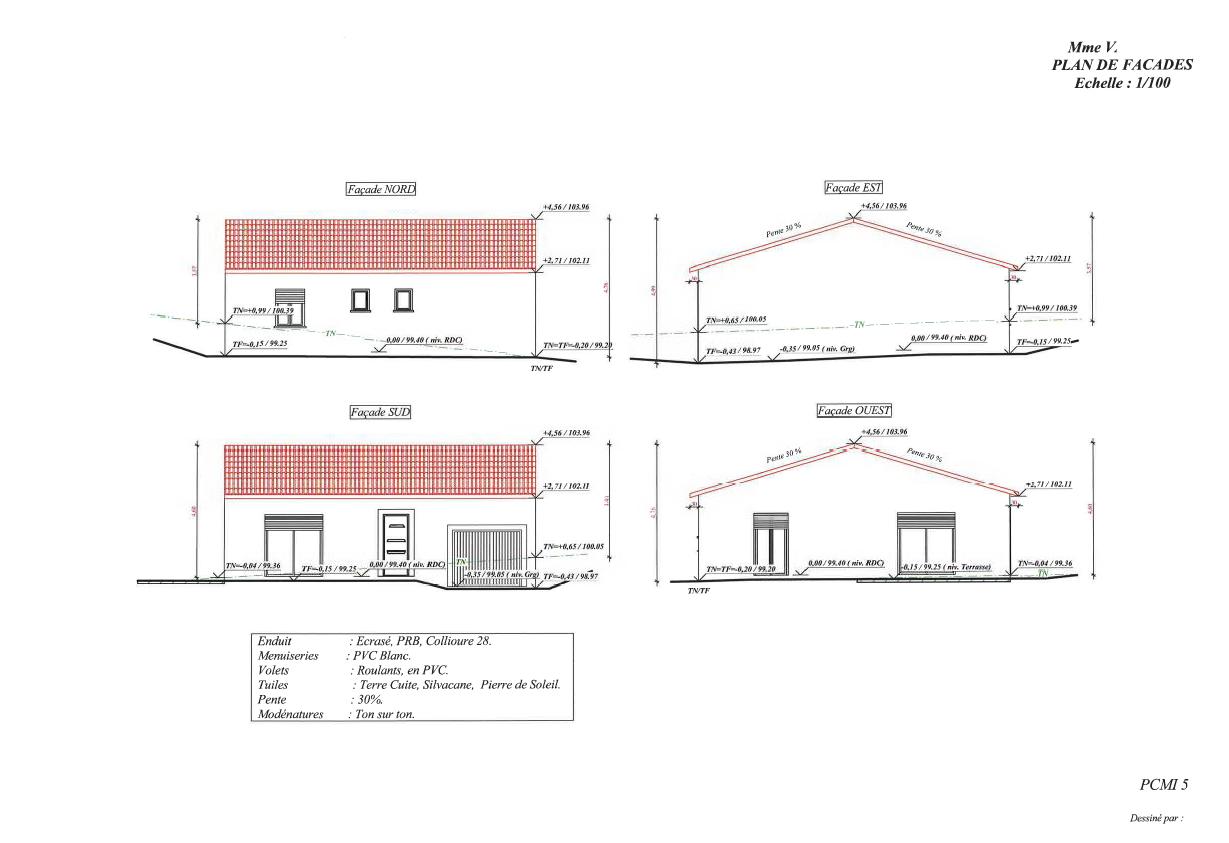 avril mai 5 nouveaux permis accord s top duo montauban constructeur maison individuelle. Black Bedroom Furniture Sets. Home Design Ideas