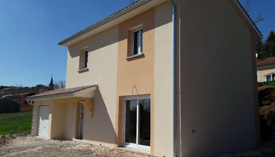 Construction d'une maison individuelle à étage au Bois d'Oingt Top Duo Ville