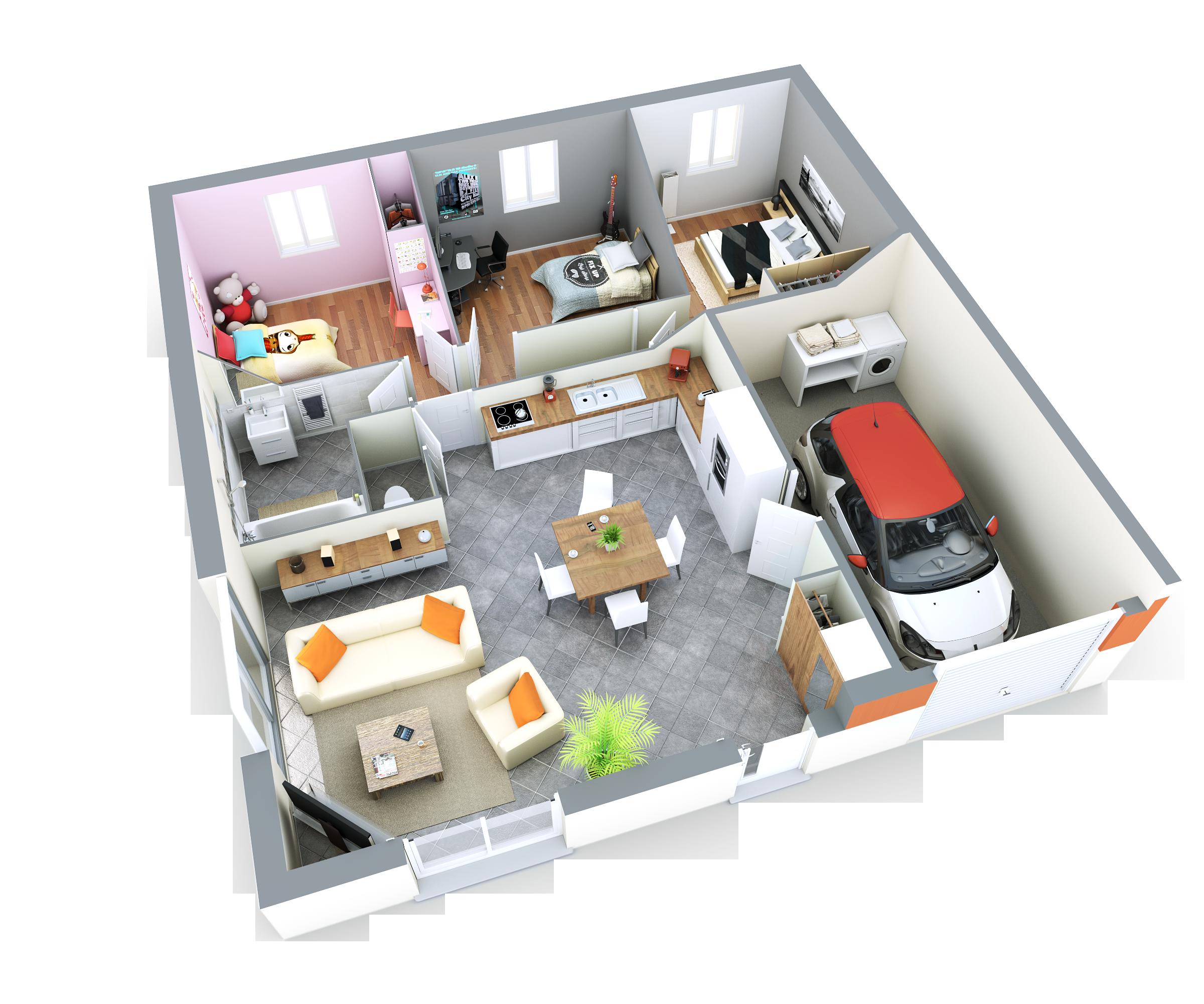 Annonce vente maison veyziat 01100 82 m 194 655 for Nouvelles dispositions de maison
