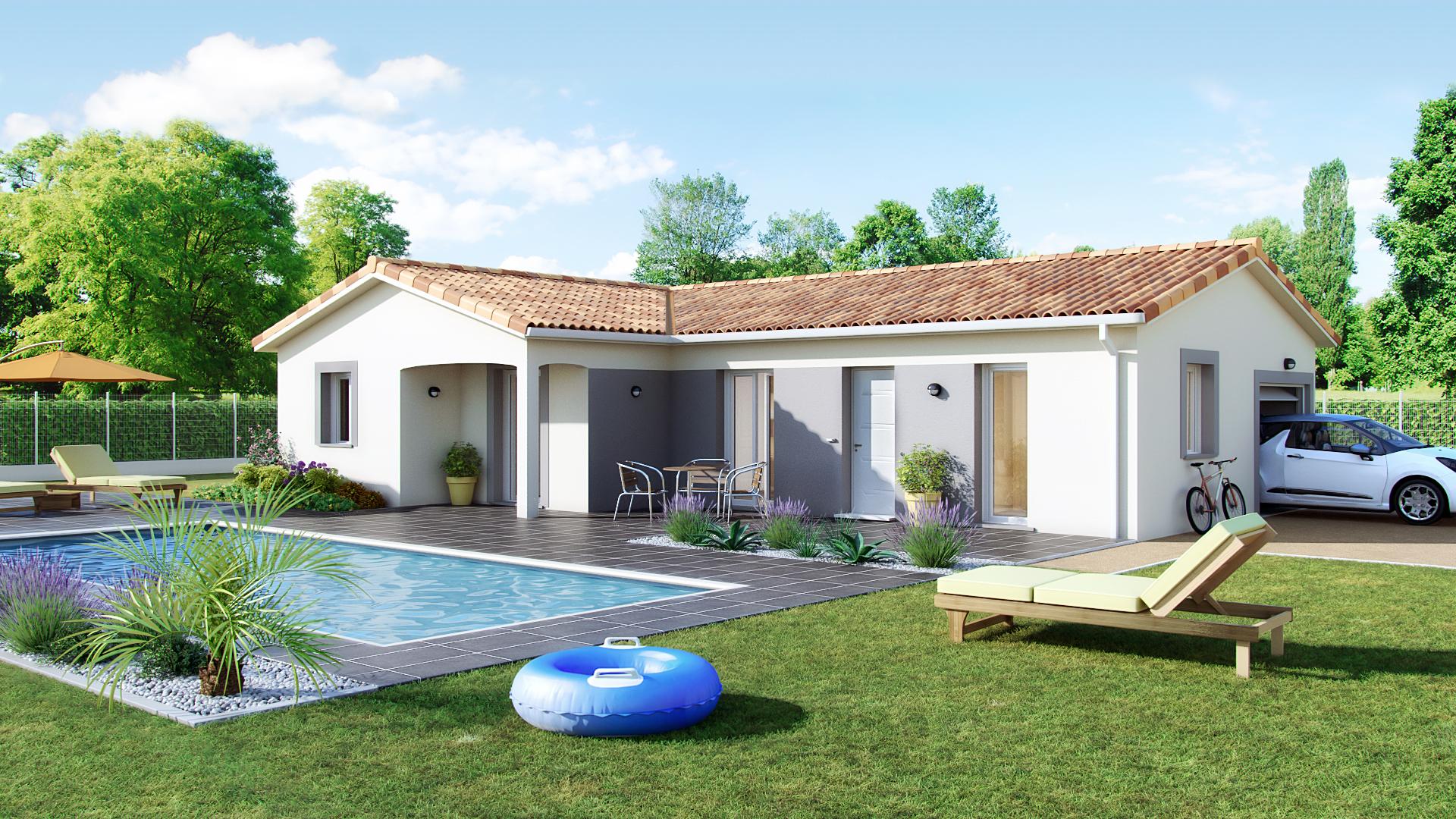 Annonce vente maison l 39 isle d 39 abeau 38080 90 m 235 for Vente maison l