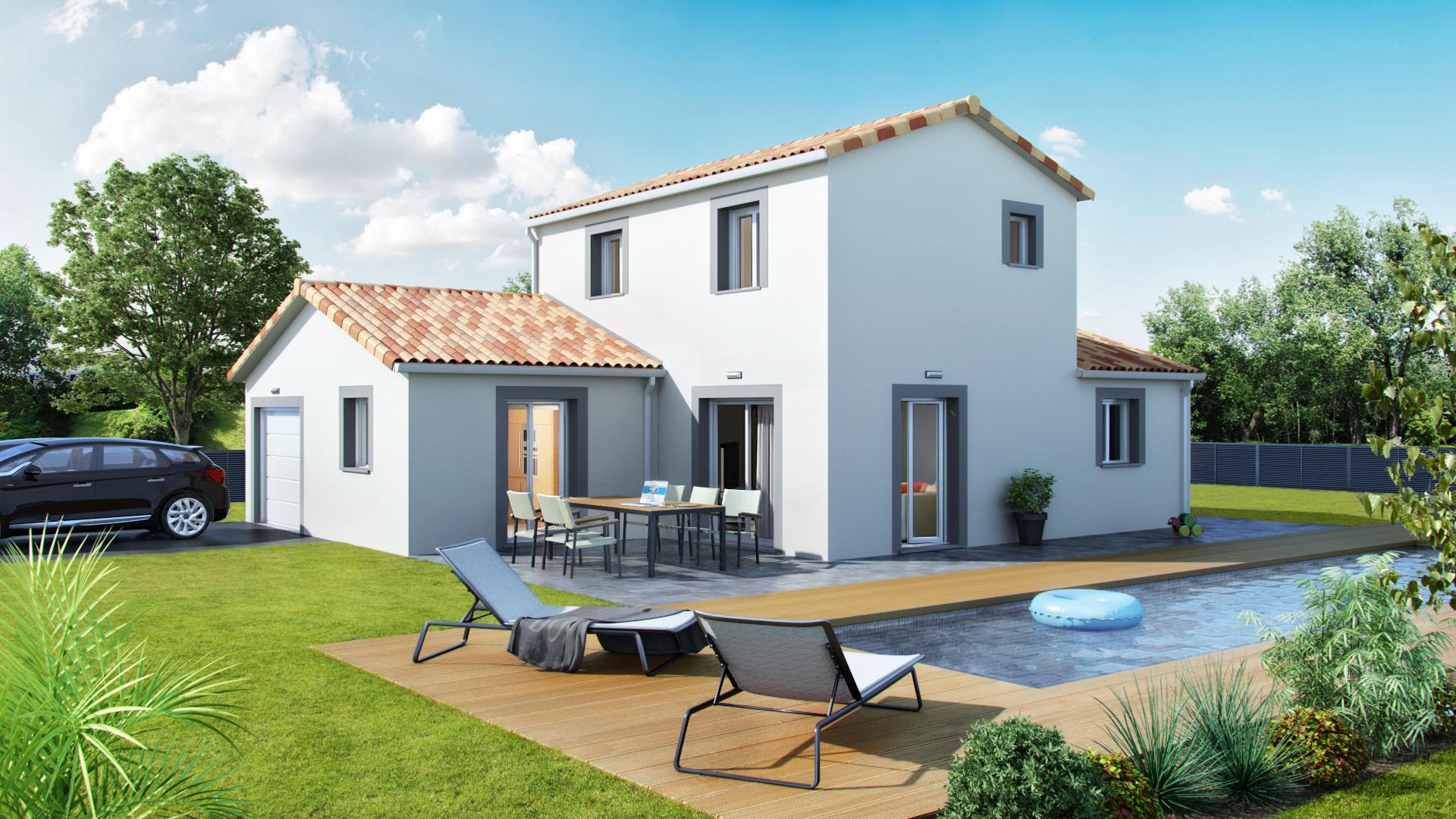 Construction maison neuve 38300 for Constructeur maison bourgoin