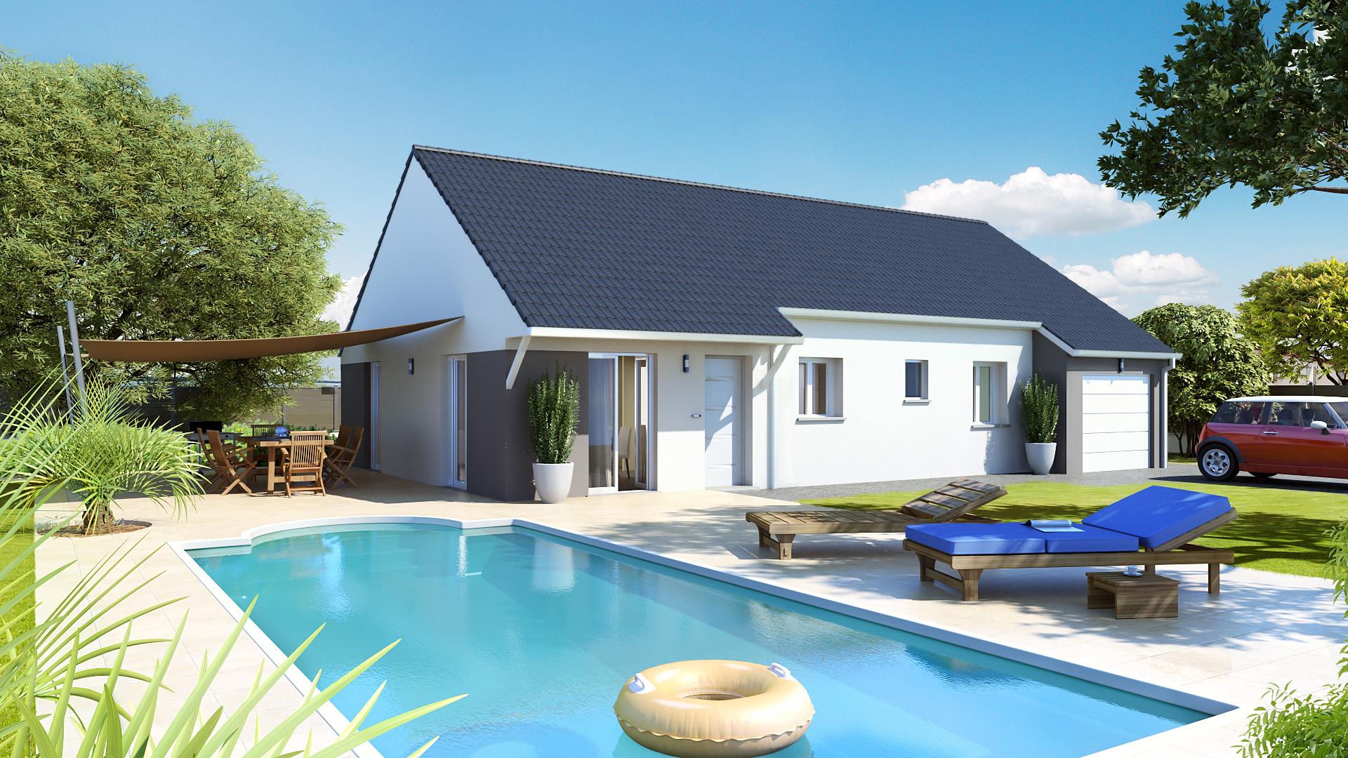 construction maison mont sous vaudrey 39380 sur le partenaire. Black Bedroom Furniture Sets. Home Design Ideas