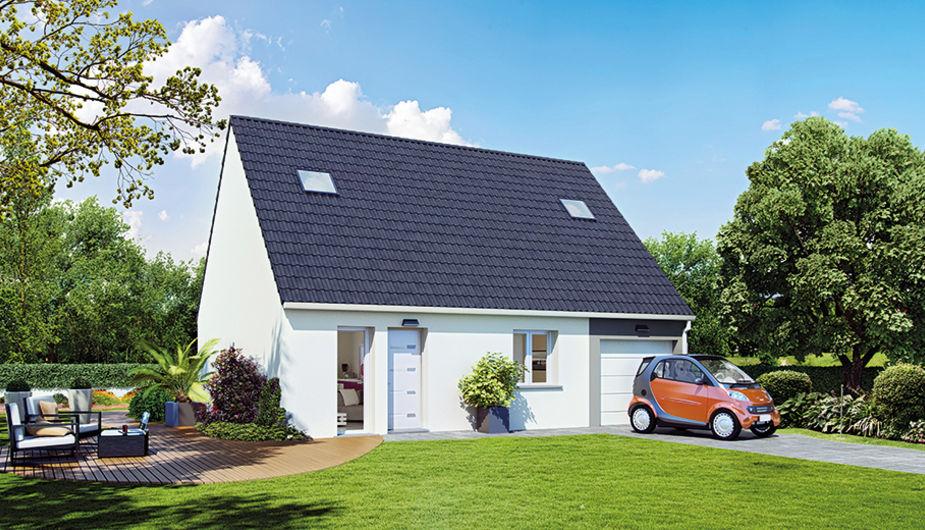 Maison individuelle maisoncelles en brie top duo for Maison petit budget