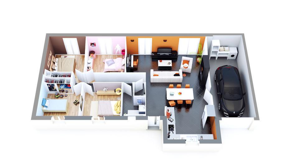 constructeur maison vaugneray top duo construction. Black Bedroom Furniture Sets. Home Design Ideas