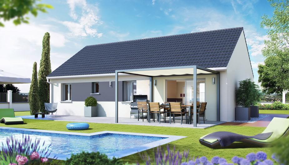 Maison individuelle noiron sous gevrey top duo dijon 23206 for Noiron sous gevrey
