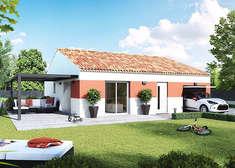 plan maison individuelle mod le alpilles cuivre top duo. Black Bedroom Furniture Sets. Home Design Ideas