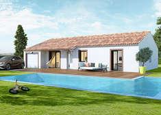 plan maison individuelle mod le isa cuivre top duo. Black Bedroom Furniture Sets. Home Design Ideas