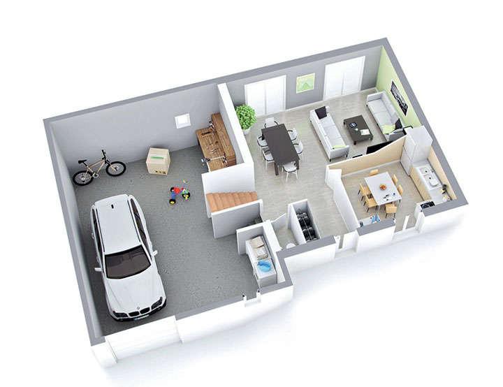 plan maison individuelle mod le nova ardoise top duo. Black Bedroom Furniture Sets. Home Design Ideas