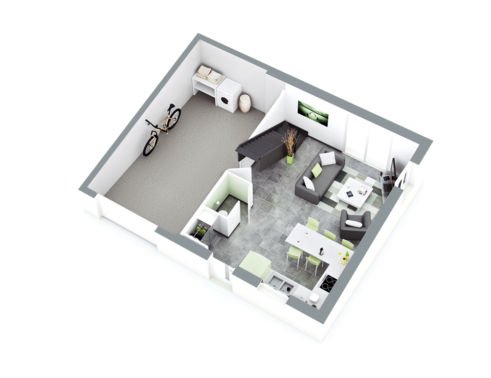 plan maison individuelle mod le origan ardoise top duo. Black Bedroom Furniture Sets. Home Design Ideas
