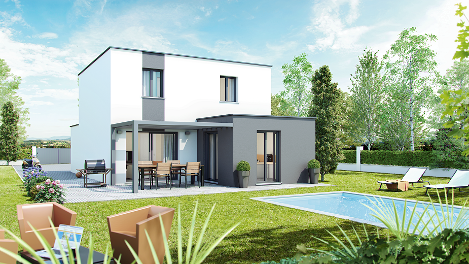 découvrez notre gamme de maisons d'architecture contemporaines ... - Architecture Contemporaine Maison Individuelle
