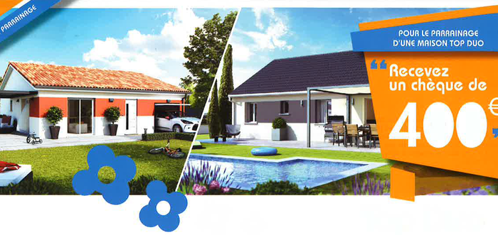 Constructeur maison individuelle la tour du pin top duo for Constructeur maison bourgoin