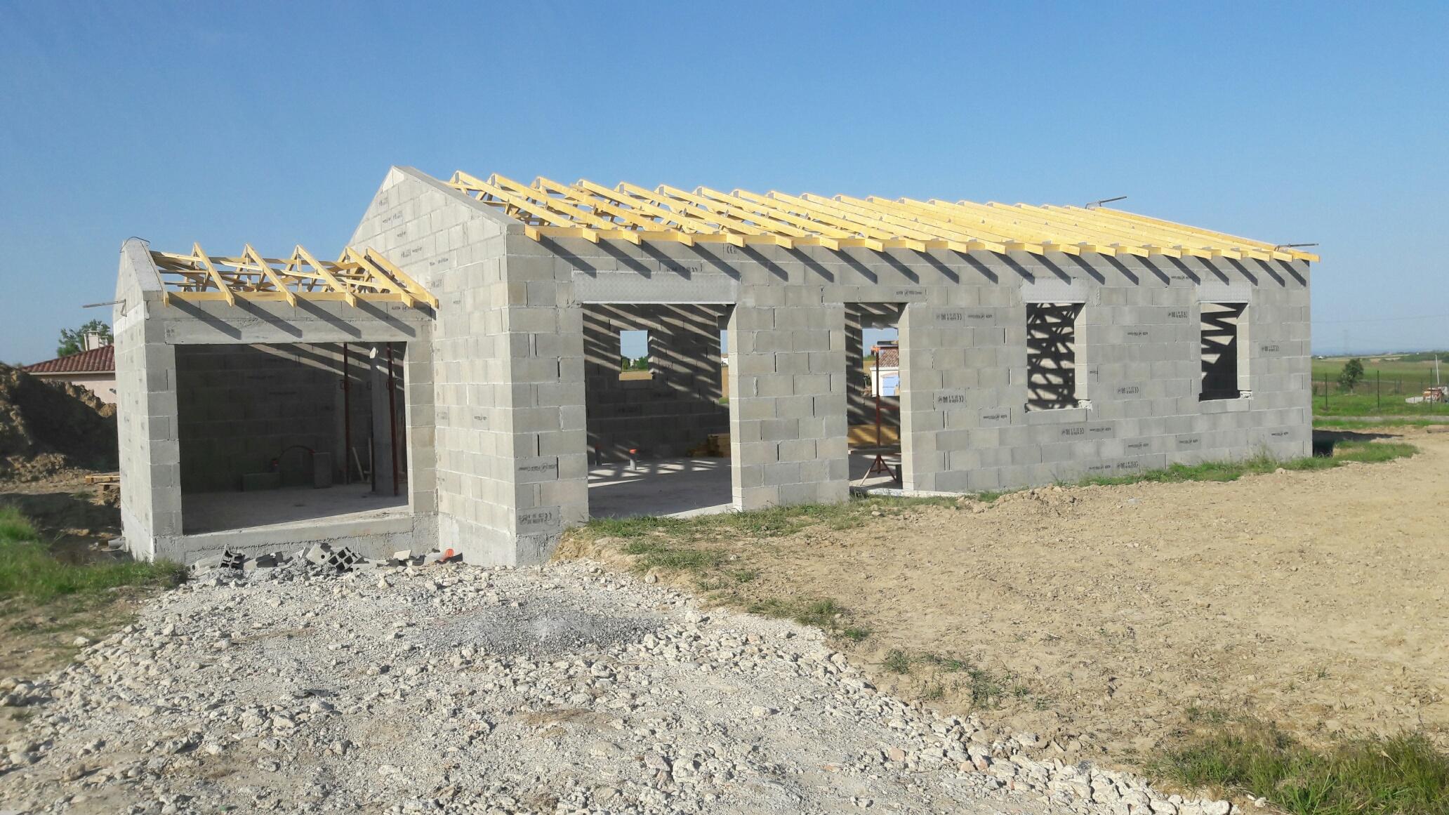 construction parpaing
