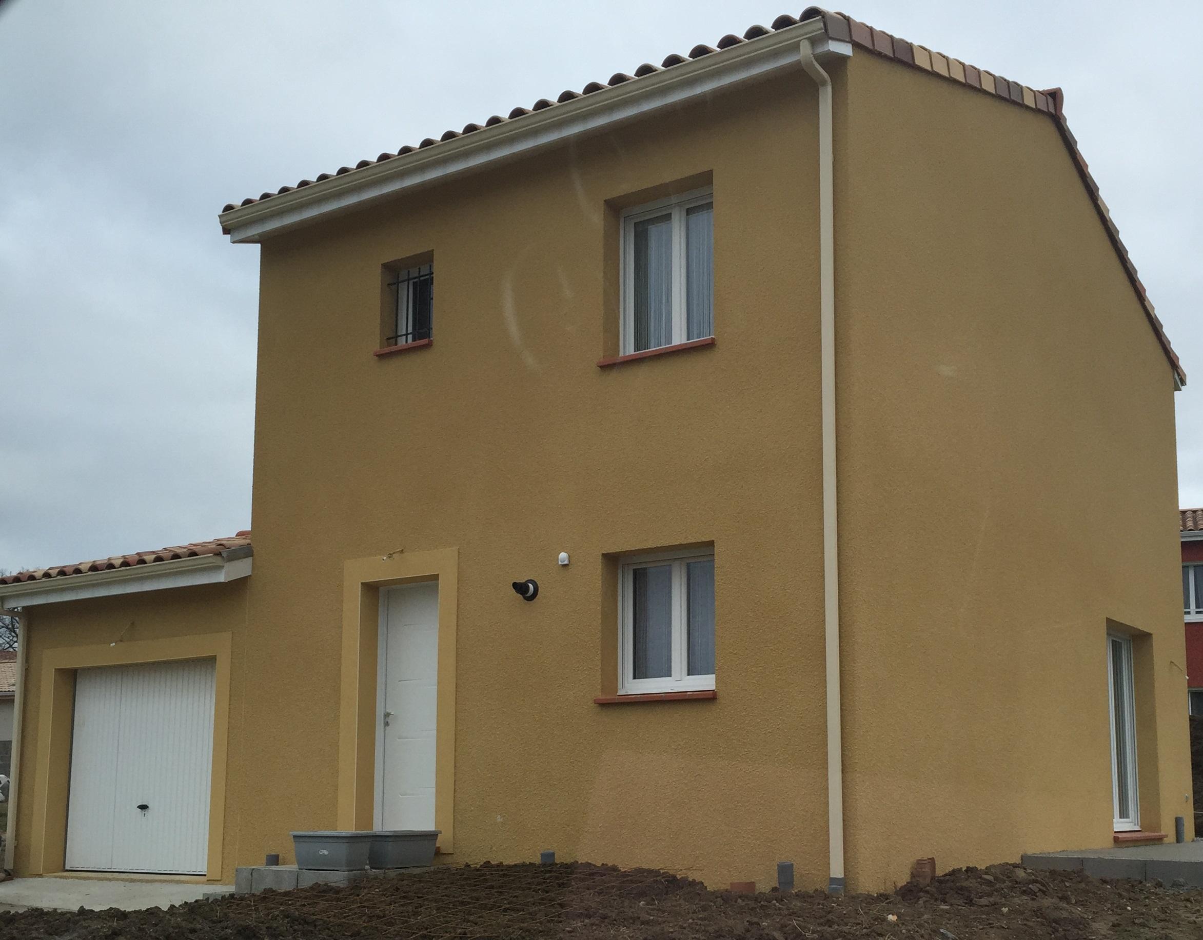 Maison à étage réalisée par Top Duo Toulouse
