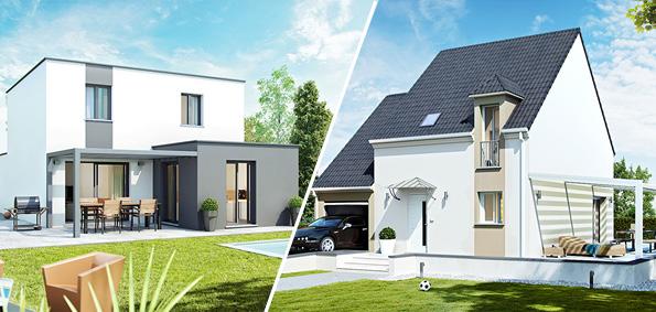 Pergola en bois et en aluminium - maisons Top Duo