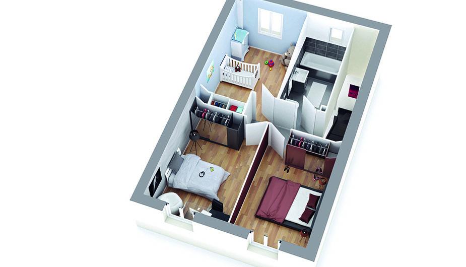 maison individuelle mondonville top duo montauban 34851. Black Bedroom Furniture Sets. Home Design Ideas
