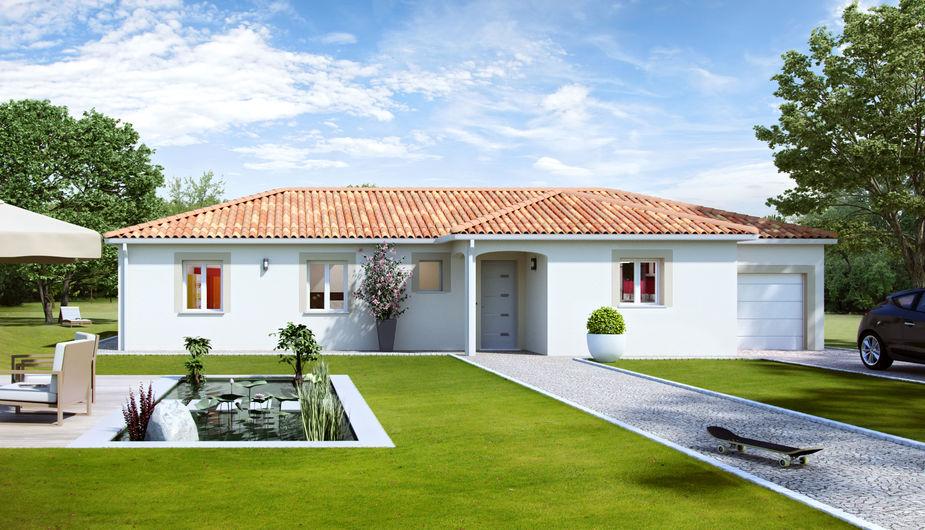 Maison individuelle bretx top duo montauban 34846 for Constructeur de maison montauban