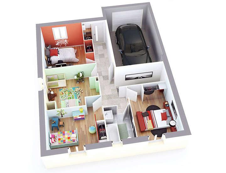 maison petit budget celia etage top duo