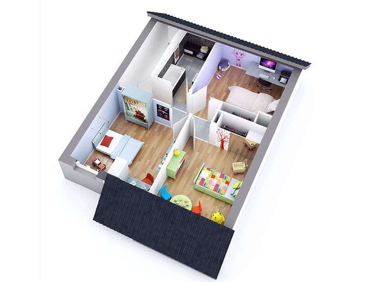maison petit budget opale etage top duo