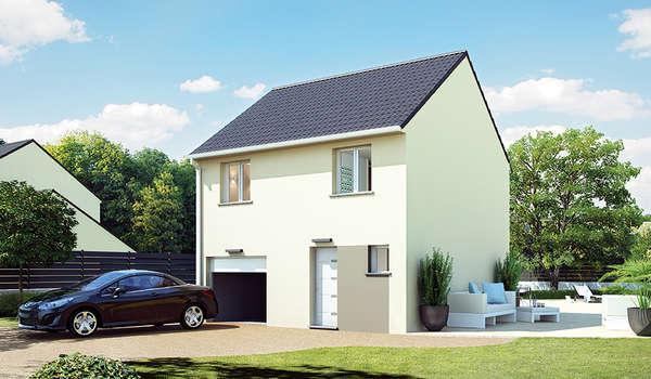 une maison proximit de paris avec top duo c est possible top duo constructeur maison. Black Bedroom Furniture Sets. Home Design Ideas