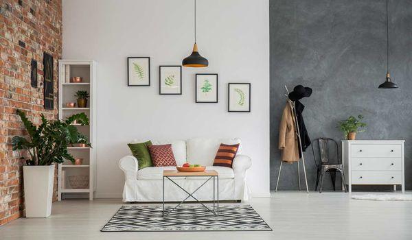 1. Un Pan De Mur Coloré. Pour Décorer Son Salon ...